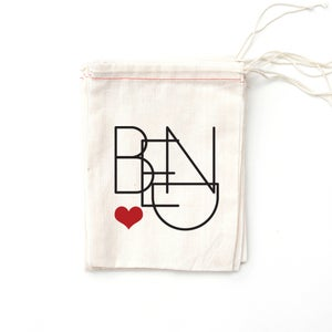 Image of Bend Oregon Heart BAG ONLY