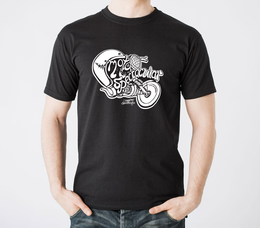 Image of Men CCJMC Motospectacular Illustration T-Shirt