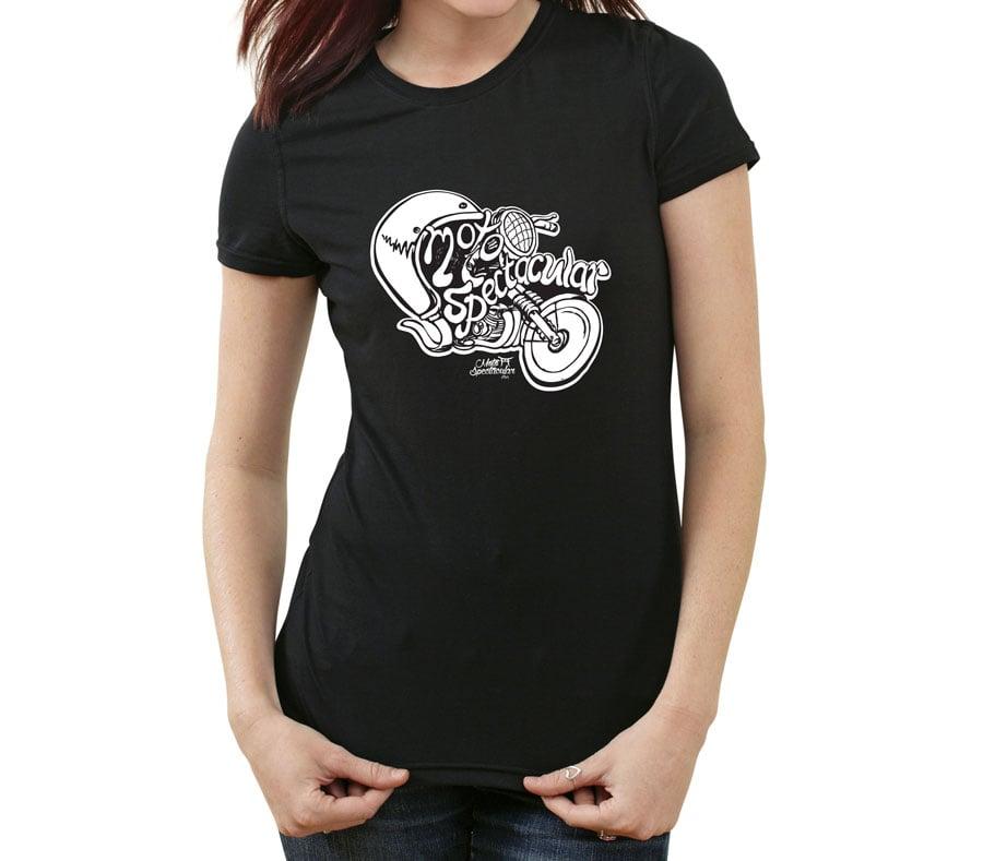 Image of Womens CCJMC Motospectacular Illustration T-Shirt