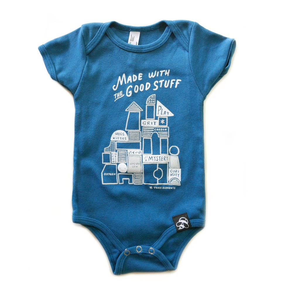 Image of THE GOOD STUFF babies' bodysuit - Organic