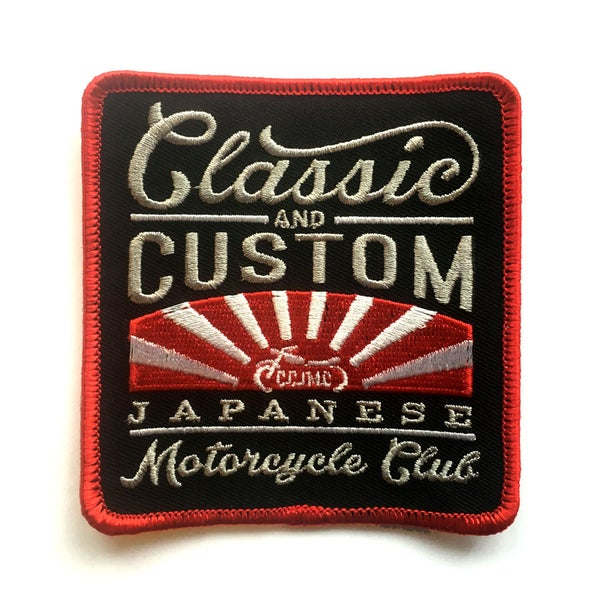 Image of CCJMC Official Club Patch - Square