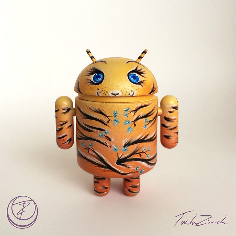 Image of Sunlit Tiger Android Mini