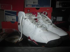 """Air Jordan VII (7) Retro """"Cardinal"""" 2007 GS *PRE-OWNED* - areaGS - KIDS SIZE ONLY"""