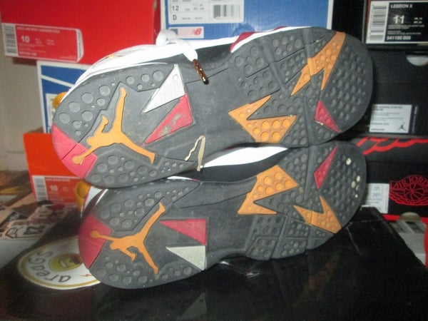"Air Jordan VII (7) Retro ""Cardinal"" 2007 GS *PRE-OWNED* - areaGS - KIDS SIZE ONLY"