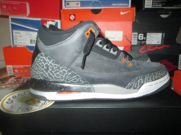 "Air Jordan III (3) Retro QS ""Fear"" GS *PRE-OWNED* - areaGS - KIDS SIZE ONLY"
