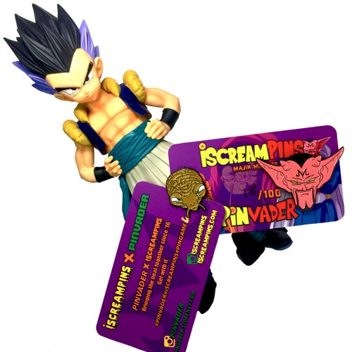 Image of iScreamPins X Pinvader Majin Meanies Collab Pack