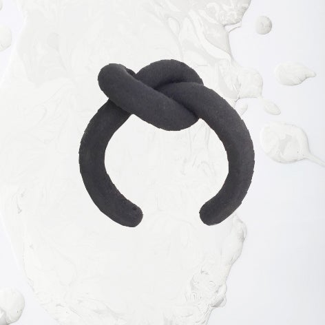 Image of ZOEE x ITUM black round bangle