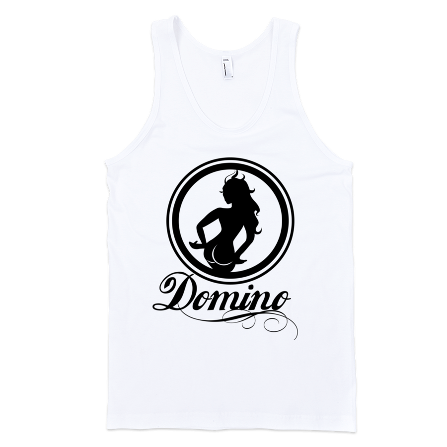 Image of WHITE DOMINO TANK TOP