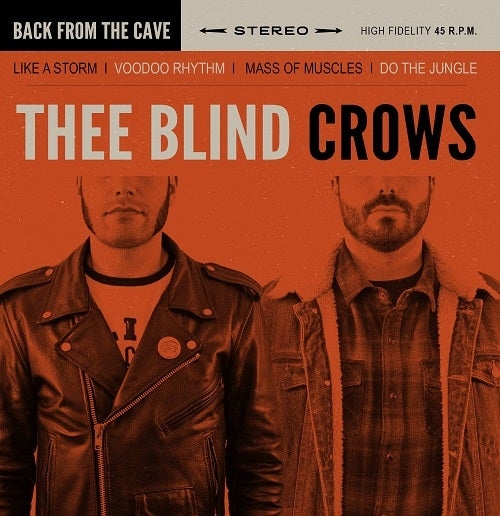 Image of Thee Blind Crows - Back from the cave (Ep)