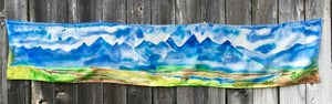 Image of The Tetons - Hand Painted