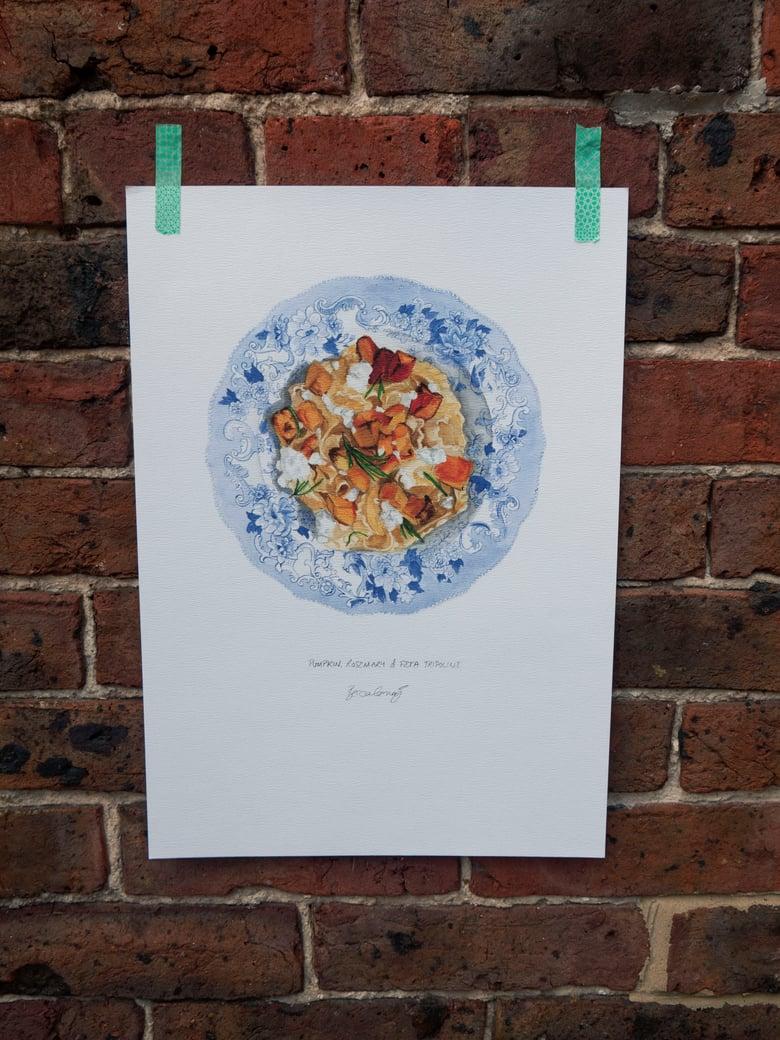 Image of Pumpkin Pasta - A3 Print