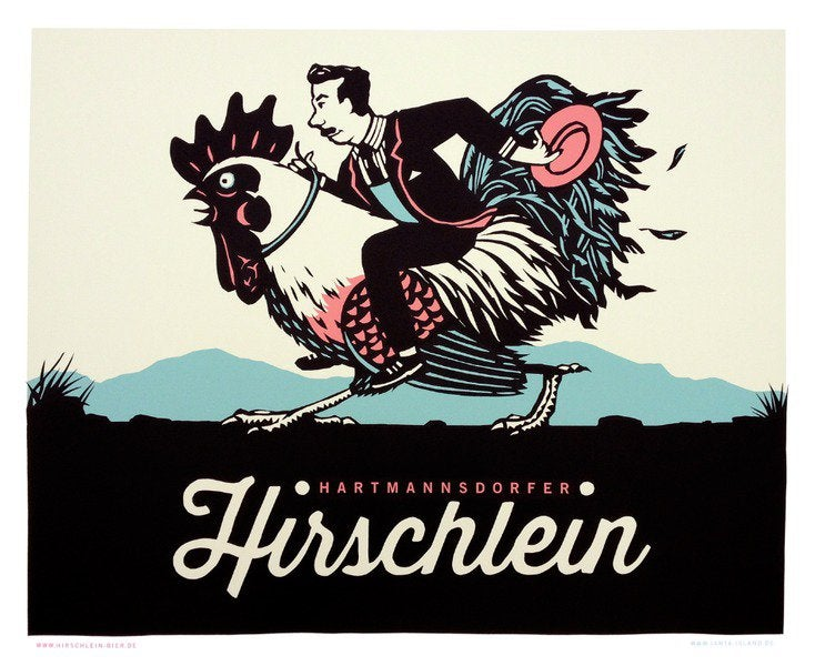 Image of »Hirschlein« Poster