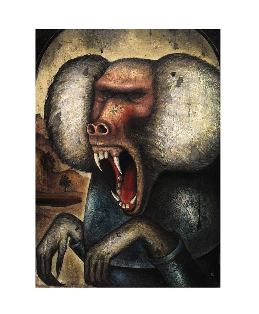 Image of Limited Edition Giclee Print- Wrath