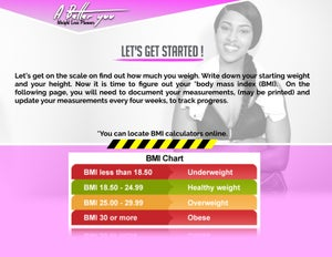 """Image of **SALE** """"A BETTER YOU"""" WORKOUT PLANNER *NEW*"""