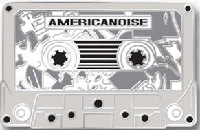 Image of Americanoise Custom Enamel Pin