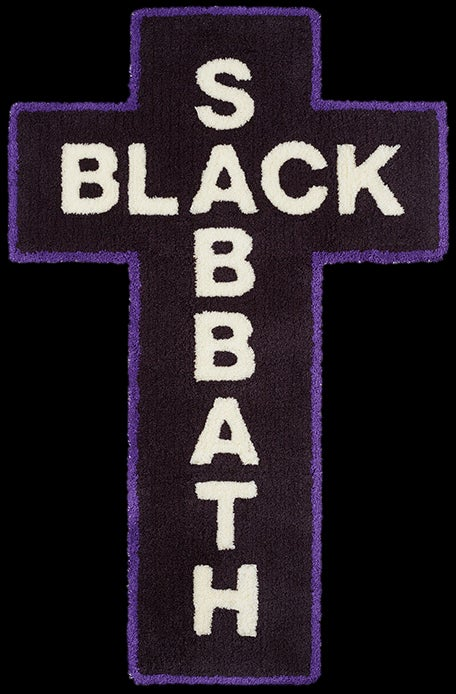 Image of 2016 Black Sabbath Rug