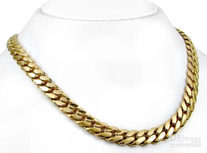 Cuban Link Chain For Sale >> 14k Gold Overlay Cuban Curb Link Chain Necklace Blue Diamond Supply
