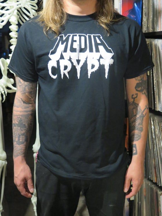 Image of MEDIA CRYPT Logo Shirt