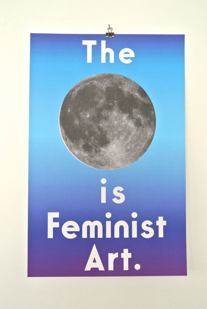 Image of The Moon is Feminist Art
