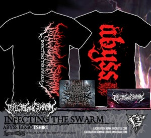 Image of INFECTING THE SWARM - Abyss Logo Tshirt