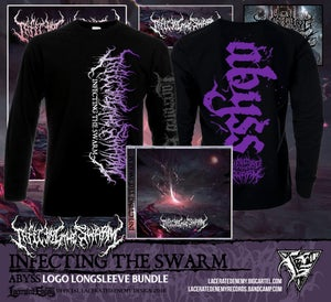 Image of INFECTING THE SWARM - Abyss Logo LS CD / Digipack Bundle