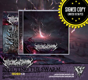 Image of INFECTING THE SWARM - Abyss SIGNED CD • LIMITED!