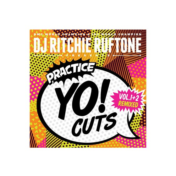 "Image of Practice Yo! Cuts V1 and V2 remixed (orange limited edition 7"")"