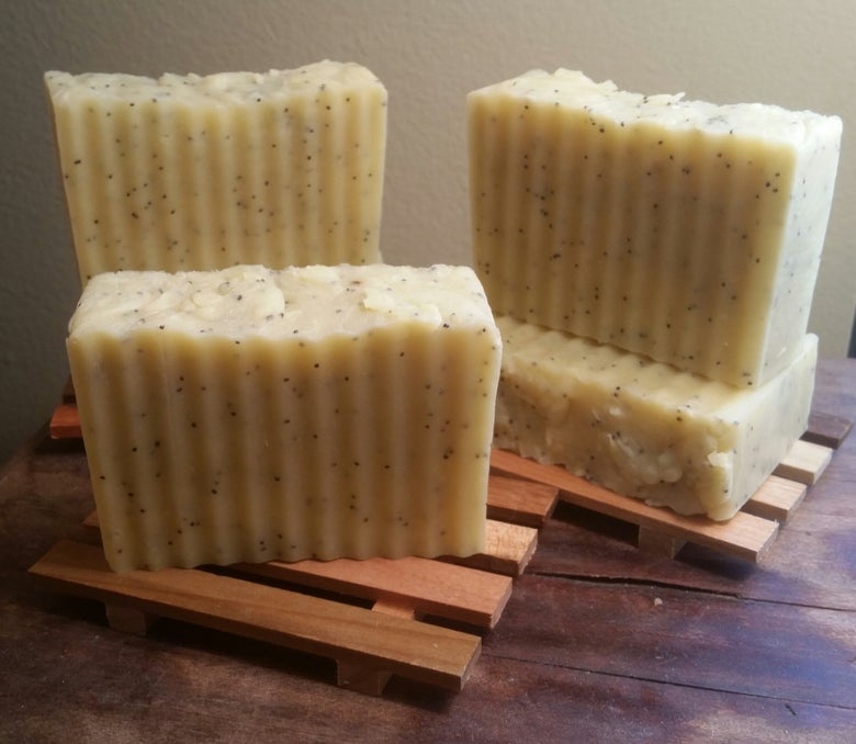 Image of Lemon Poppyseed Soap