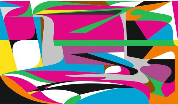 "Image of NOMONOCHROME project ""NMCBMW"" signed print by JAIME GILI"