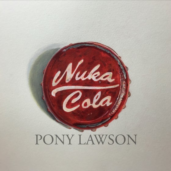 Image of Nuka Cola Canvas Print