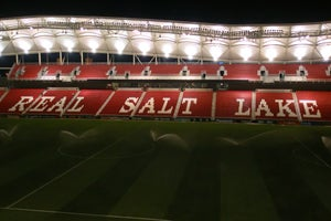 "Image of Opening Night Afterglow, Rio Tinto Stadium, 8"" x 10"""