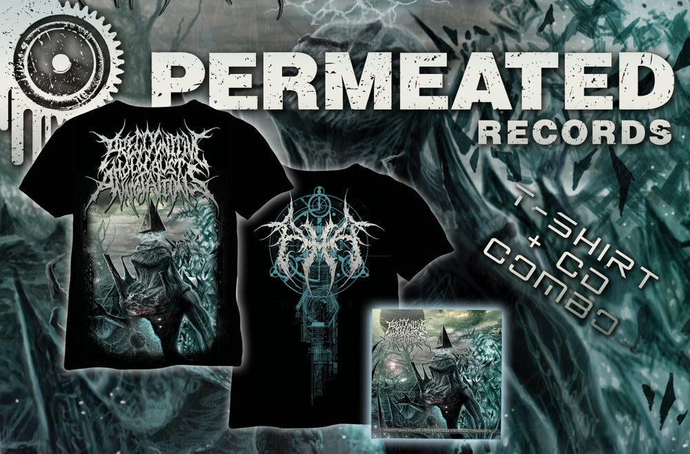 Image of Precognitive Holocaust Annotations - Procreation of the artificial Divinity - CD + Shirt combo