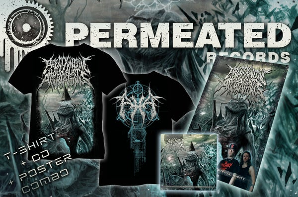 Image of Precognitive Holocaust Annotations - Procreation of the artificial Divinity - CD/T-Shirt/Poster