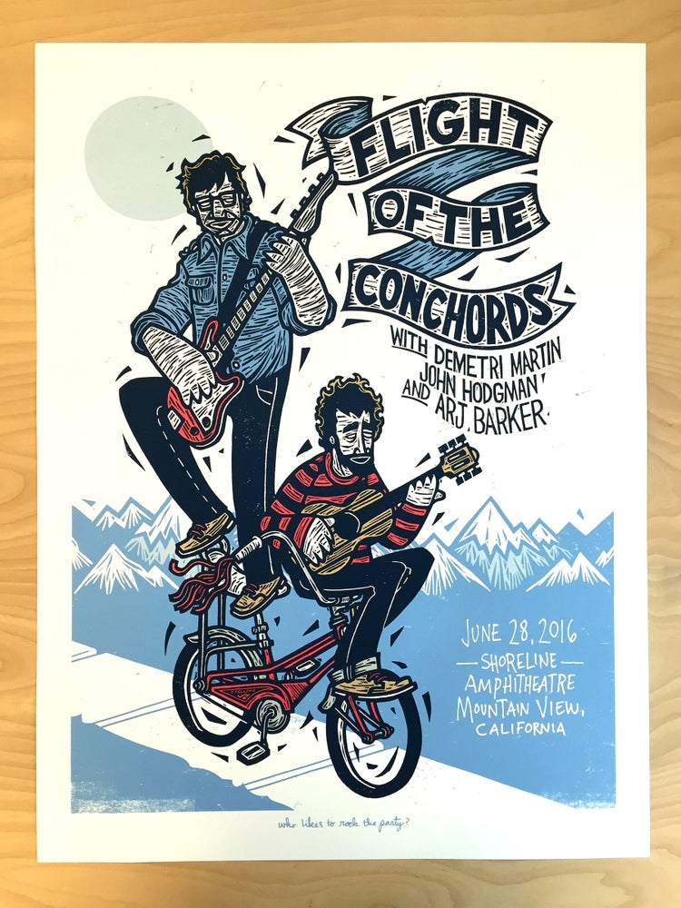 Image of FLIGHT OF THE CONCHORDS - MOUNTAIN VIEW, CA