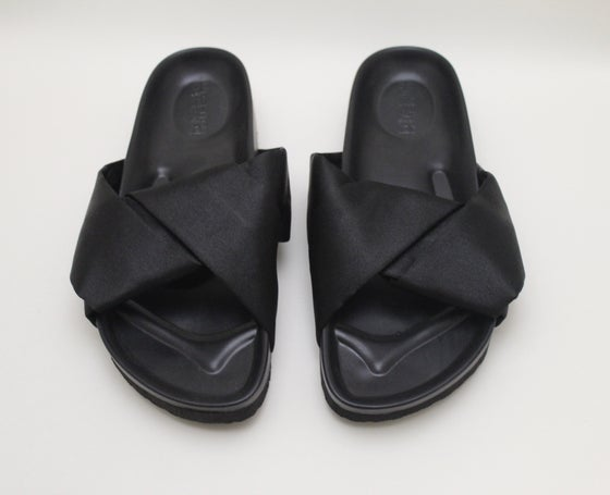 Image of Satin Slip Ons