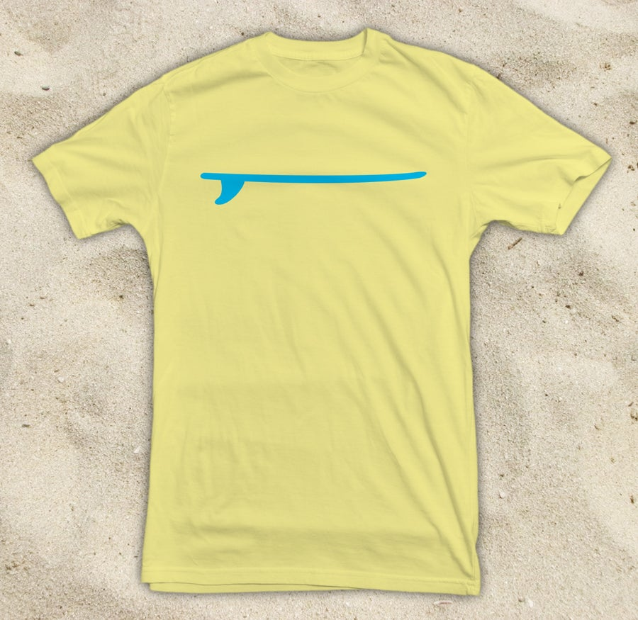 Image of Just a Board Yellow Tee
