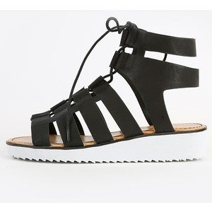 Image of Pansy Cut Out Flatform Sandals