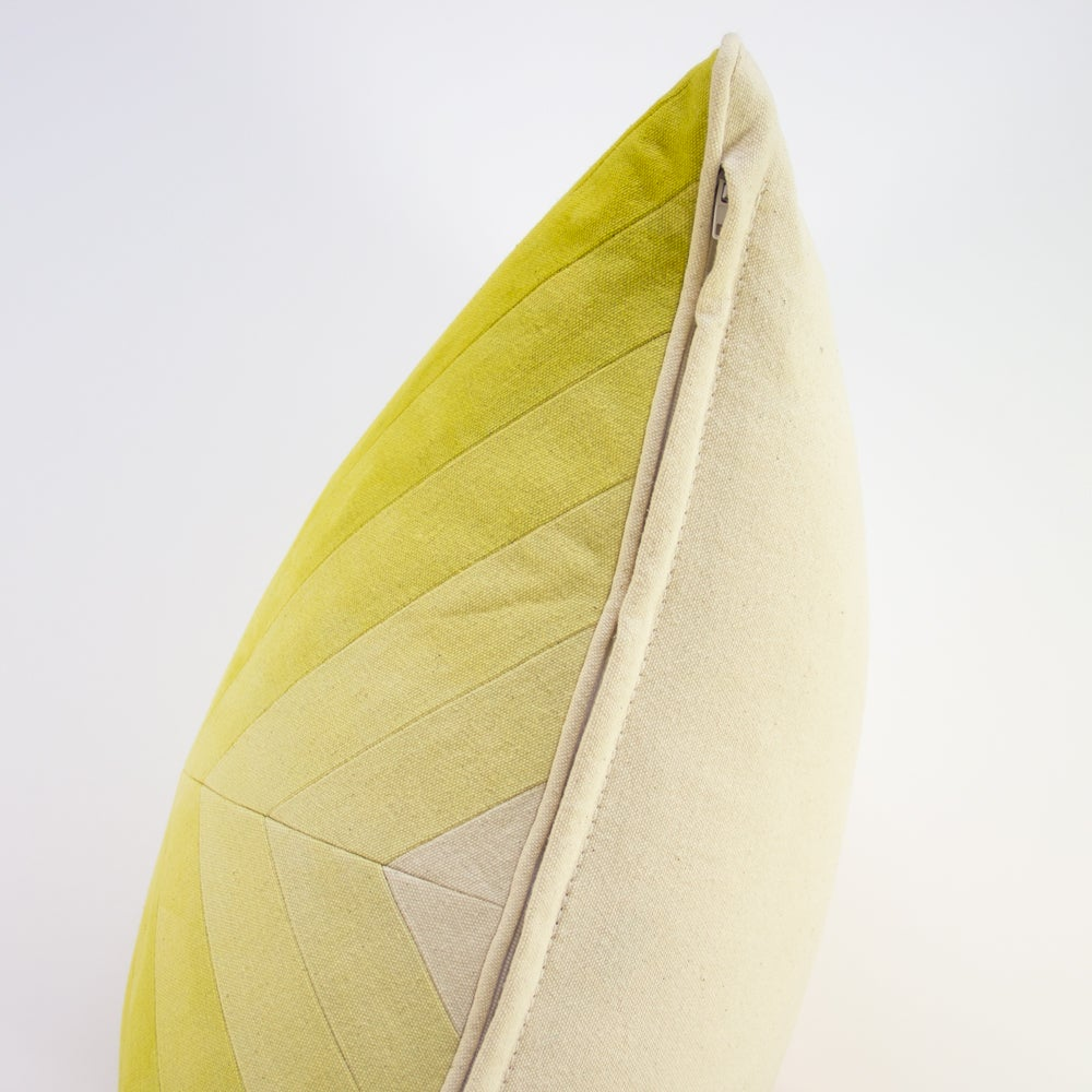 Image of Apex Pillow - Yellow II