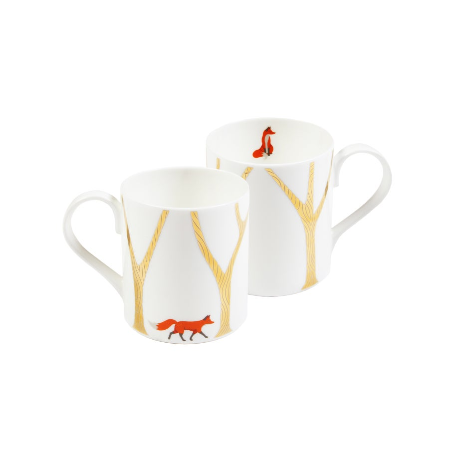 "Image of ""The Fox & The Kintsugi Forest"" Mug"