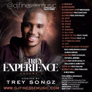 "Image of TREY SONGZ ""THE TREY EXPERIENCE"" MIX VOL. 3"