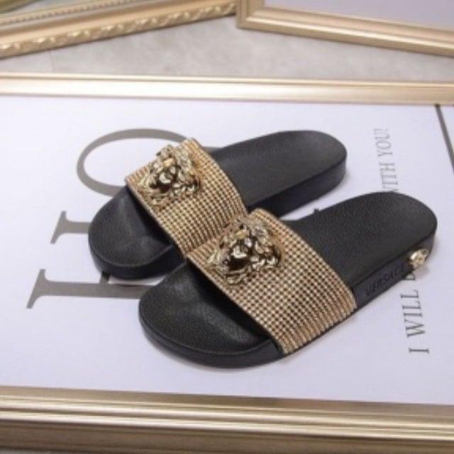 Versace Women's Slippers   LaLaLa Luxury