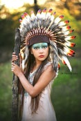 Image of Feather Headdresses - Short Style in Multiple Colors - Child to Adult - $65 OFF!