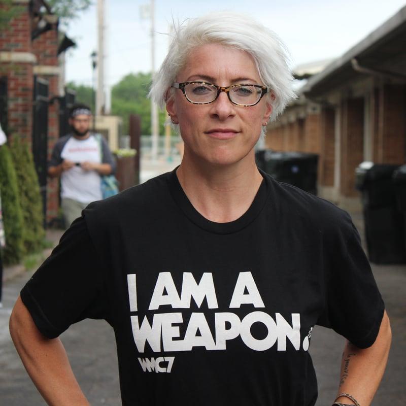 Image of WMC 7 I am a Weapon T-Shirt