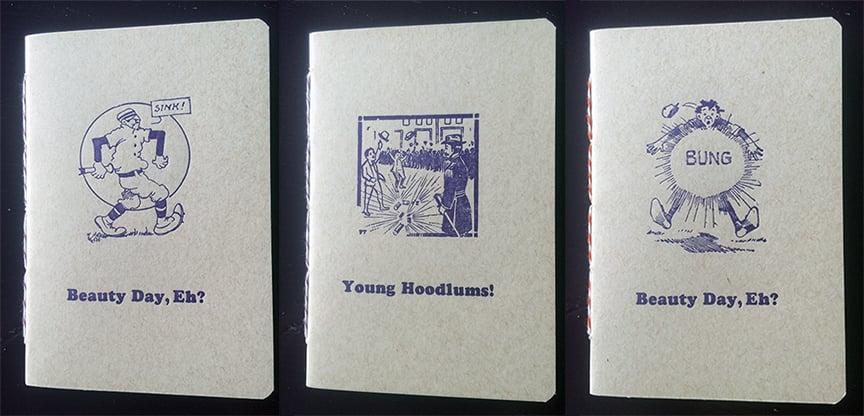 """Image of Handbound Letterpress Notebook (4x6"""")"""