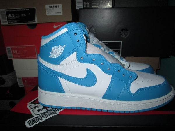 "Air Jordan I (1) Retro Hi ""Powder Blue"" GS - areaGS - KIDS SIZE ONLY"