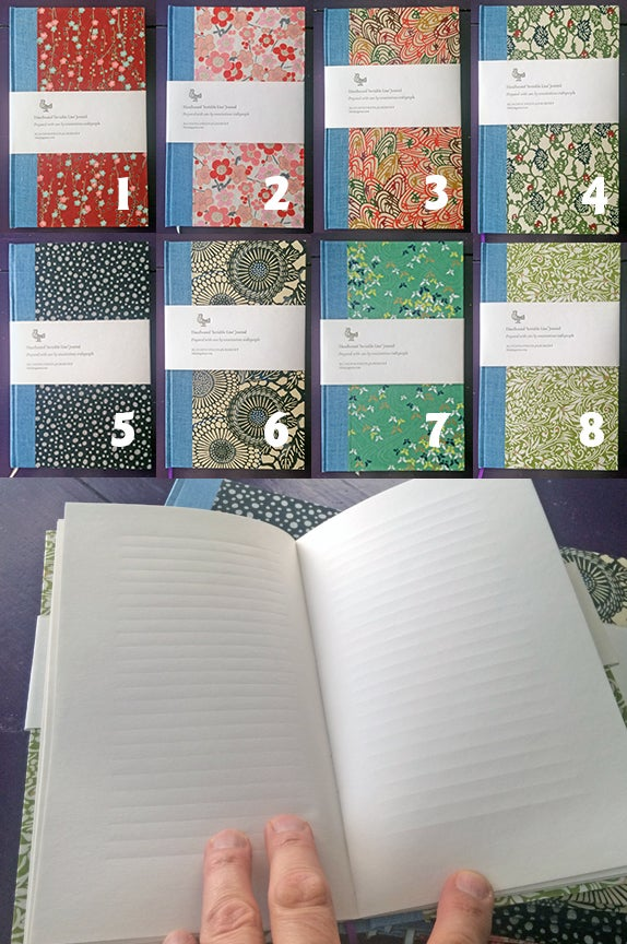 Image of Handbound 'Invisible Line' Journal