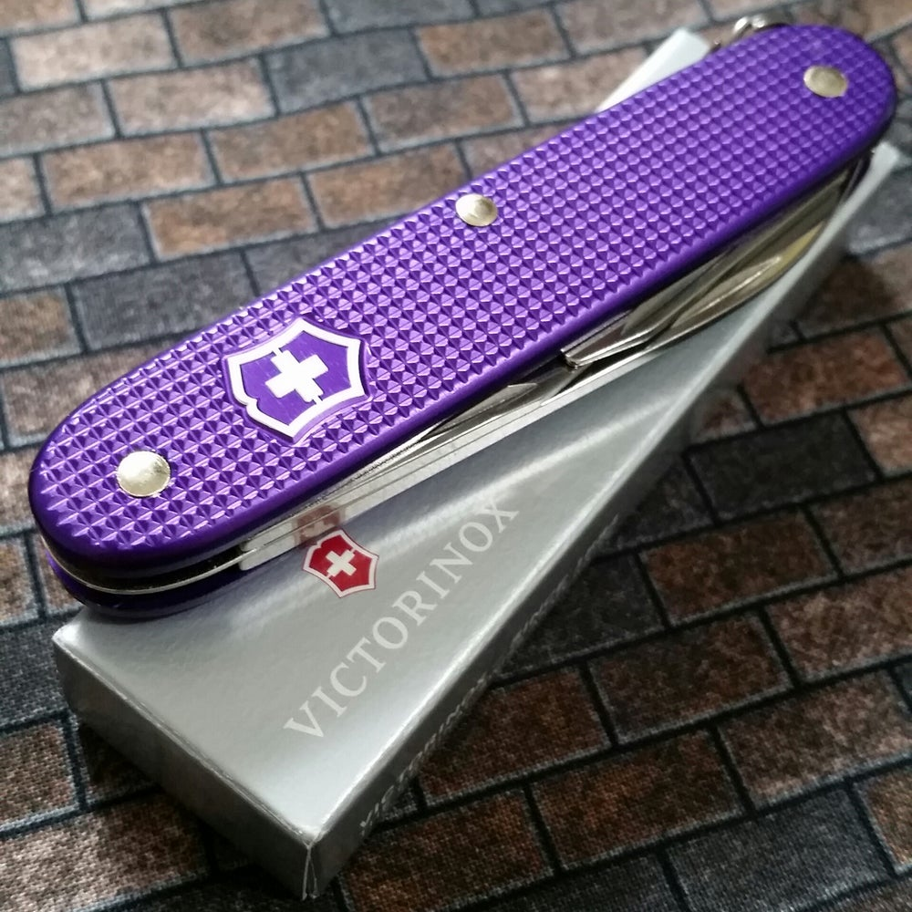 Yummy Knives Usa Victorinox Lila Alox Pioneer 93mm Swiss