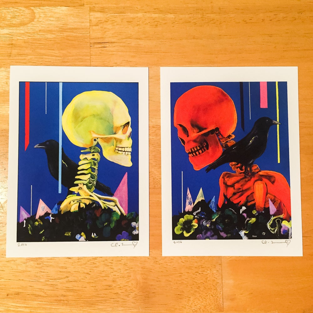 "Image of ""My Partner The Legend I & II"" Giclee Fine Art Print Set"