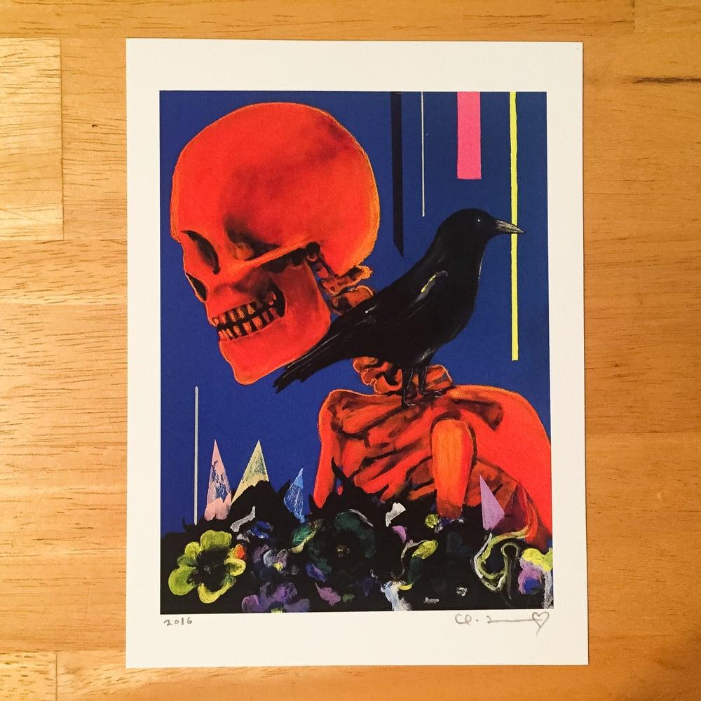 "Image of ""My Partner The Legend I & II"" Giclee Fine Art Print Set  5.5""x7.5"""