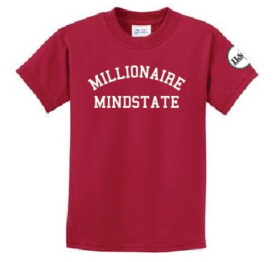 Image of Millionaire Mindstate T-Shirts: BLACK, BLUE, RED OR WHITE